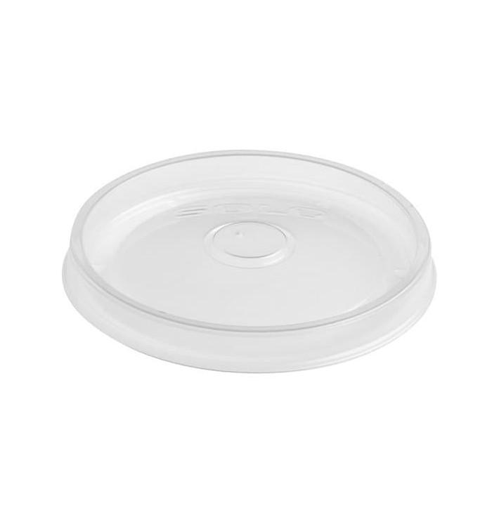 Transparent Plastikdeckel für Saucenbehälter 350, 500 und 1.000ml (500 Einh.)