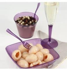 Plastikglas, gespritzt, aubergine 230ml (150 Stück)