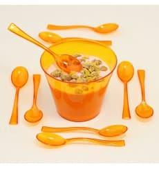 Plastiklöffel orange 160mm (10 Stück)