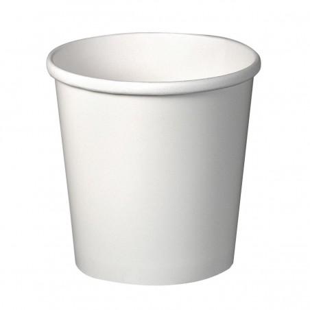 Pappbecher Weiß 16Oz/473ml Ø9,8cm (25 Stück)