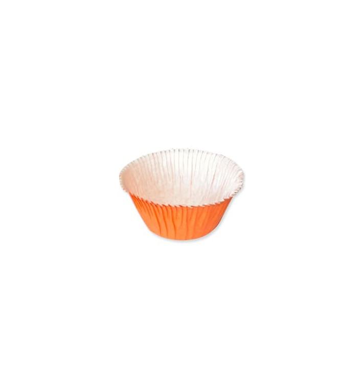 Muffinförmchen orange 4,9x3,8x7,5cm (500 Stück)