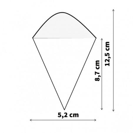 Kegel Bambu 125mm (50 Einh.)
