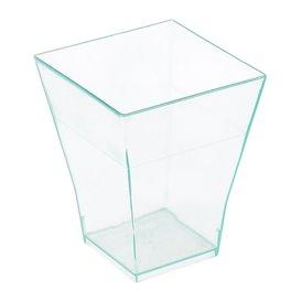 Transp. Plastik Becher Verkostung 4,5x4,5x5,5mm (50 Einh.)