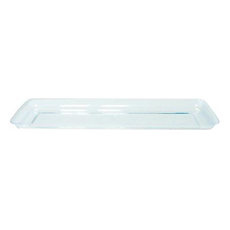 """Serviertablett Plastik """"Water Green"""" 6,5x19cm (500 Stück)"""