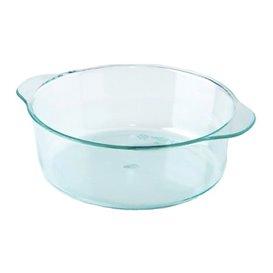 Plastik weiß mit Griffen Grün Transp. 52ml (200 Einh.)