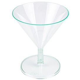 "Transp. Grün Plastikschüssel ""MARTINI"" oder Cocktail 65ml (144 Einh.)"