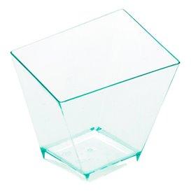 Transp. Plastik Becher Verkostung 5,6x5,6cm (12 Einh.)