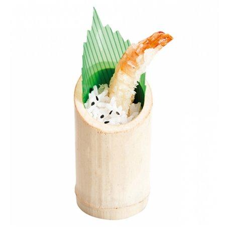 Dessertbecher aus Bambus Schief 5x9cm (200 Stück)