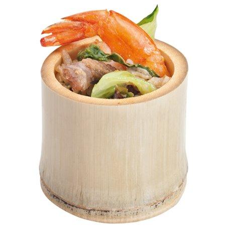 Dessertbecher aus Bambus 5x5x4,5cm (200 Stück)