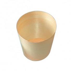 Becher aus Bamboo Verkostung 1oz/30ml 6x6cm (50 Einh.)