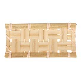 """Tray aus Bambu """"Geflochten"""" 10,5x5cm (24 Einh.)"""