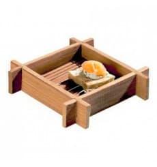 Tray aus Bambu 12x12x3cm (200 Einh.)