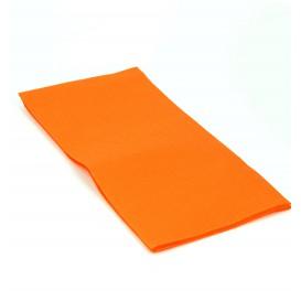 Papierservietten orange 1/8 40x40cm 2-lagig (1.200 Einh.)