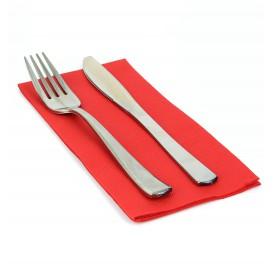 Papierservietten rot 1/8 40x40cm 2-lagig (50 Einh.)