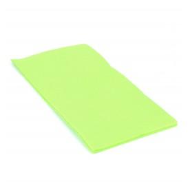 Papierservietten pistaziengrün 1/8 40x40cm 2-lagig (50 Einh.)