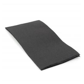 Papierservietten schwarz 1/8 40x40cm 2-lagig (1.200 Einh.)