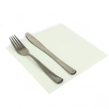 Papierservietten weiß 40x40cm 2-lagig (50 Einh.)