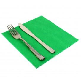 Papierservietten grasgrün 40x40cm 2-lagig (50 Stück)
