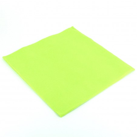 Papierservietten pistaziengrün 40x40cm 2-lagig (50 Einh.)