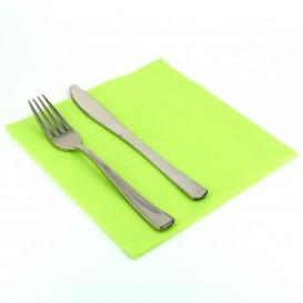 Papierservietten pistaziengrün 40x40cm 2-lagig (50 Stück)