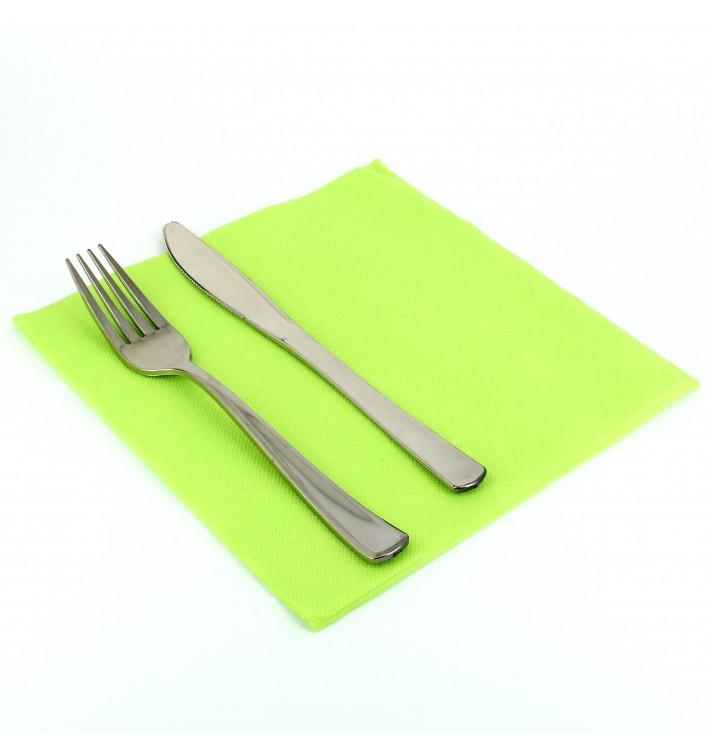Papierservietten pistaziengrün 40x40cm 2-lagig