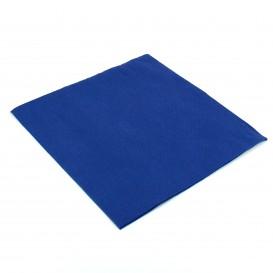 Papierservietten blau 40x40cm 2-lagig (50 Einh.)
