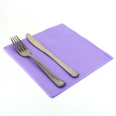 Papierservietten flieder 40x40cm 2-lagig (50 Stück)