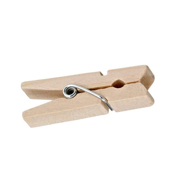 Plastikpinzetten von Bambu partyservice 35mm (10000 Einh.)