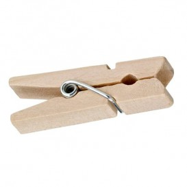 Plastikpinzetten von Bambu partyservice 35mm (100 Einh.)
