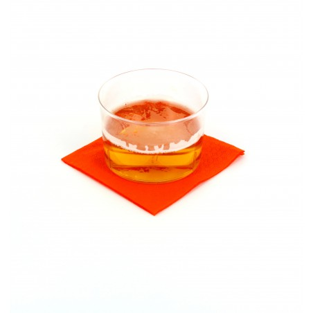 "Papierservietten ""Cocktail"" orange 20x20cm (100 Einh.)"