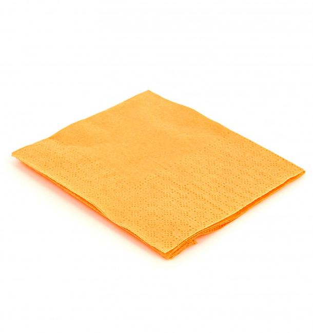 """Papierservietten """"Cocktail"""" gelb 20x20cm (100 Stück)"""