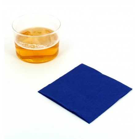 "Papierservietten ""Cocktail"" blau 20x20cm (3.000 Einh.)"