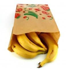 Obsttüten Kraft 18+10x28cm (100 Stück)