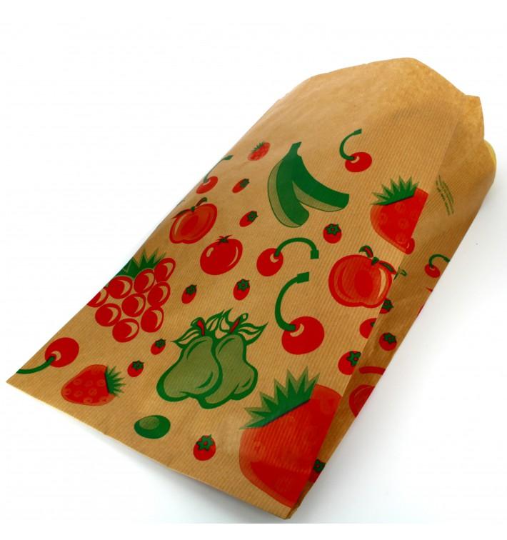 Papiertüten kraft für Obst 18+10x32cm (1.000 Einh.)
