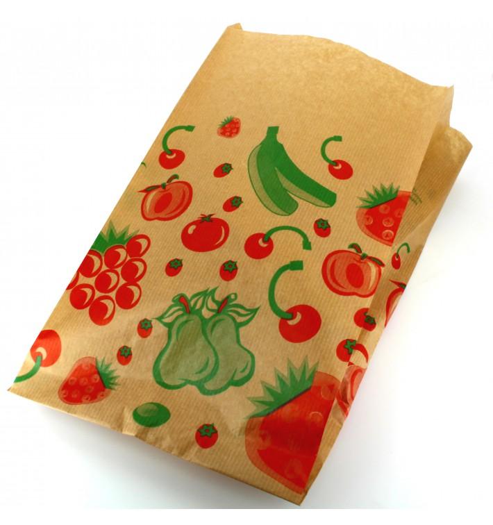 Papiertüten kraft für Obst 22+12x36cm (1.000 Einh.)