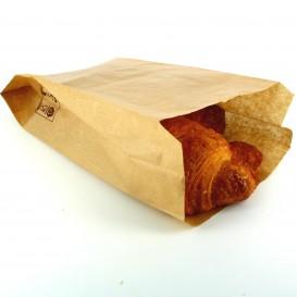 Papiertüten kraft 14+7x24cm (250 Einh.)
