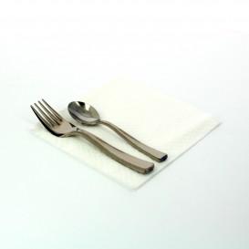 Papierservietten weiß 30x30cm 3-lagig (3.600 Einh.)