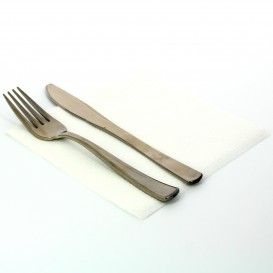 Papierservietten weiß 33x33cm 2-lagig (100 Einh.)