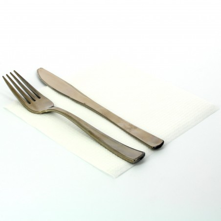 Papierservietten weiß 33x33cm 1-lagig (4.800 Einh.)